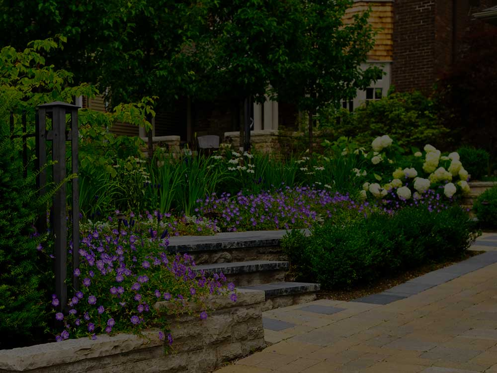 Readington Commercial Garden Design